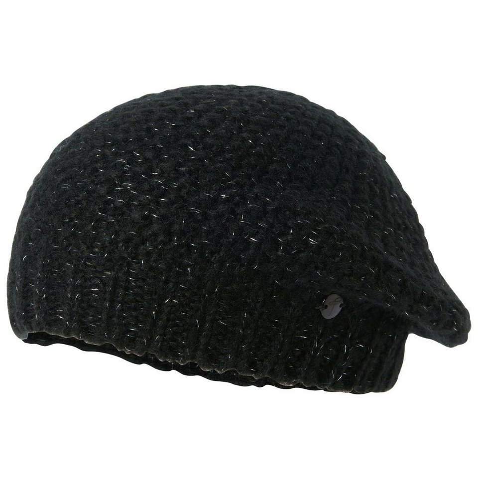 TOM TAILOR Mütze »Strick Barett« in black