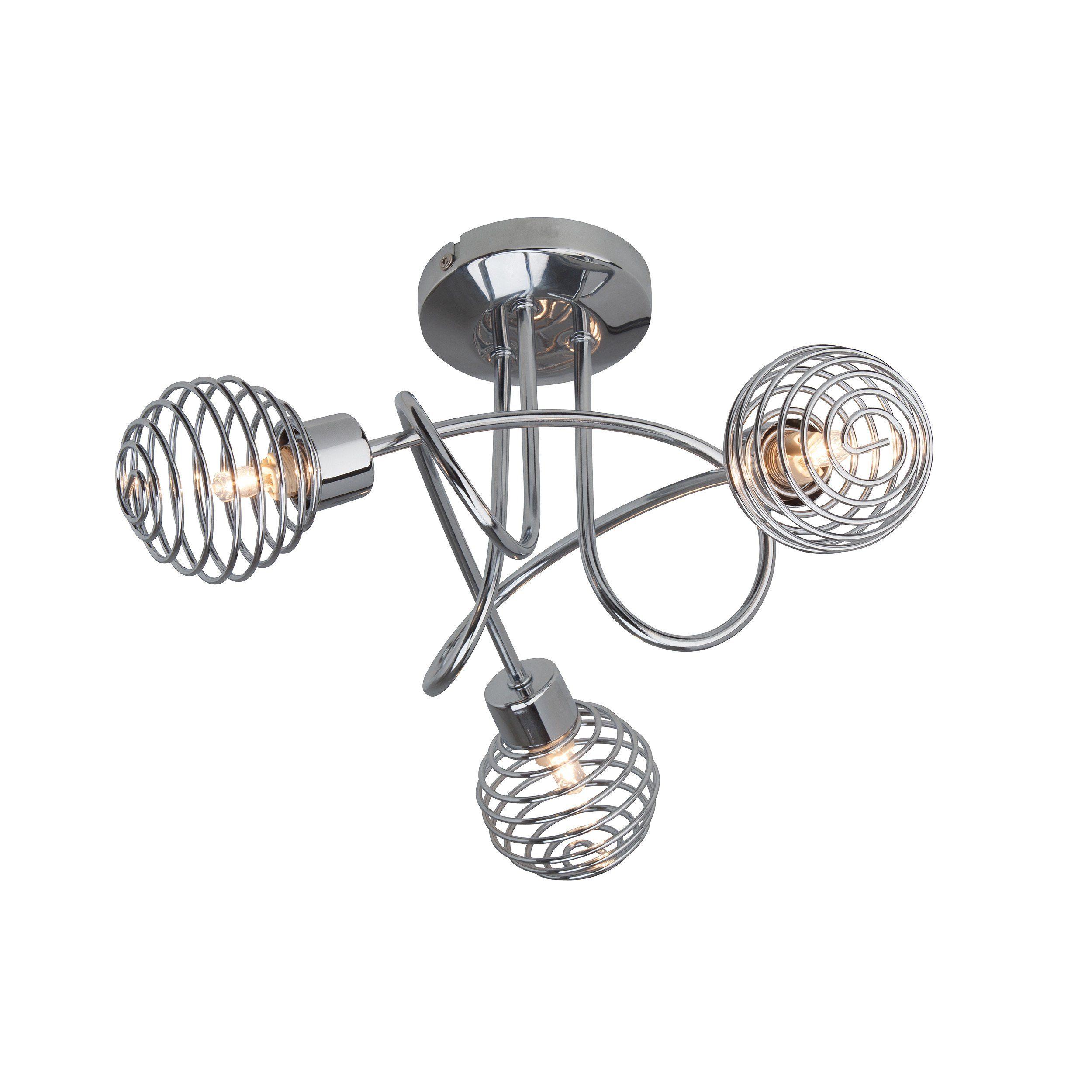 Brilliant Leuchten Charlie Spotrohr, 3-flammig chrom