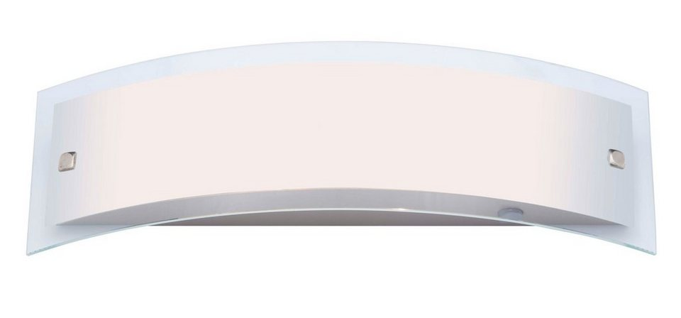 Brilliant Leuchten Elysee Wandleuchte, 2-flammig edelstahl IP21 in edelstahl