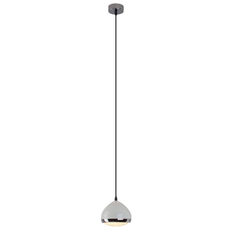 brilliant leuchten rider pendelleuchte 1 flammig creme glanz chrom online kaufen otto. Black Bedroom Furniture Sets. Home Design Ideas
