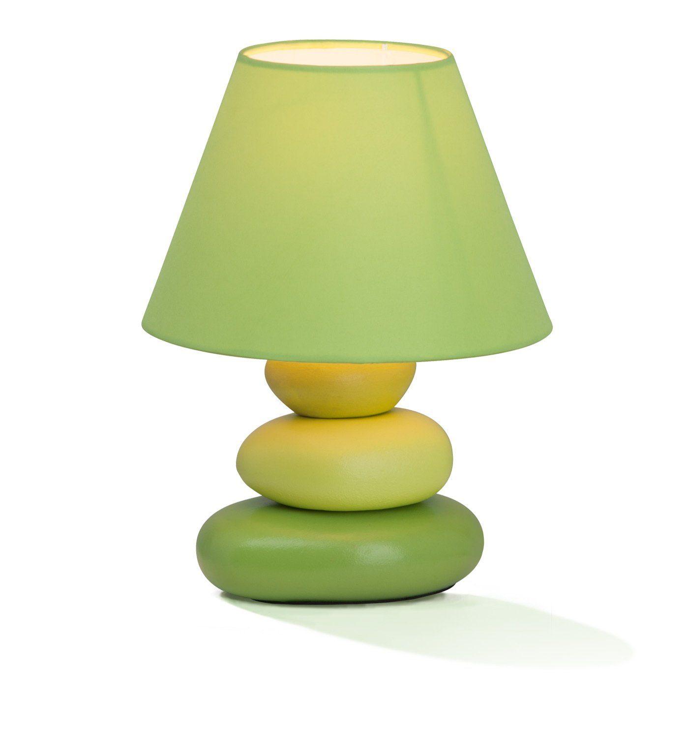 Brilliant Leuchten Paolo Tischleuchte grün