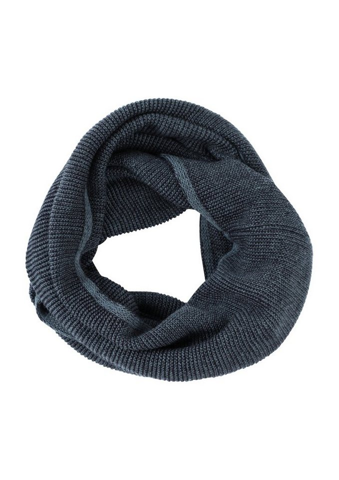 s.Oliver RED LABEL Snood in melierter Optik in blue knit