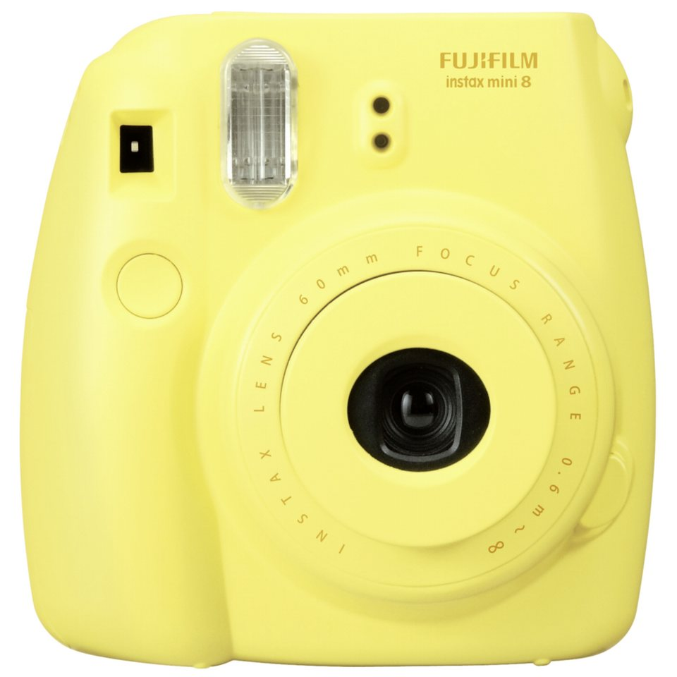 Fujifilm Digital Kameras »Instax Mini 8« in gelb