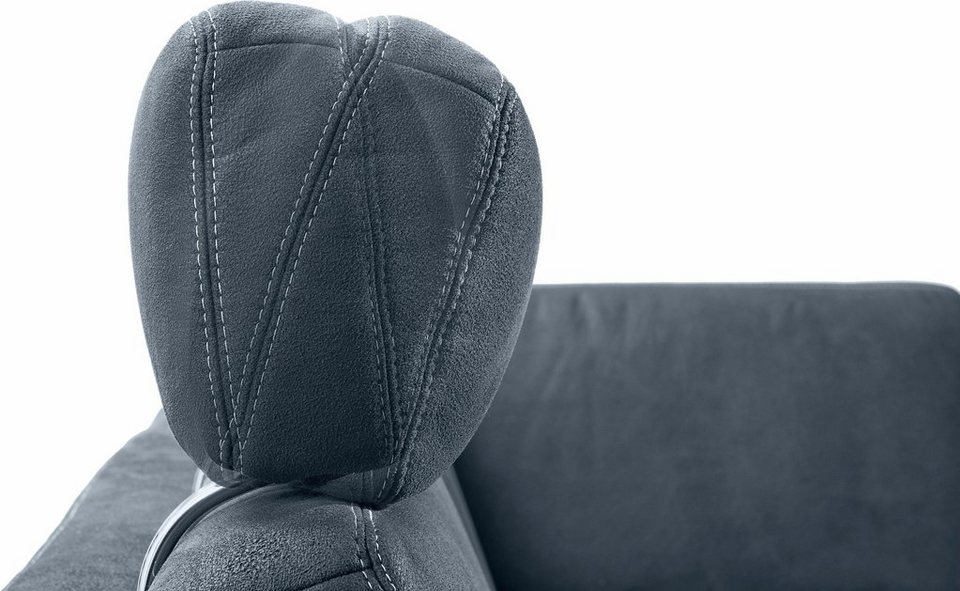 FM MUNZER Kopfstütze mit Rasterverstellung »1037 Atlanta« in dunkelblau