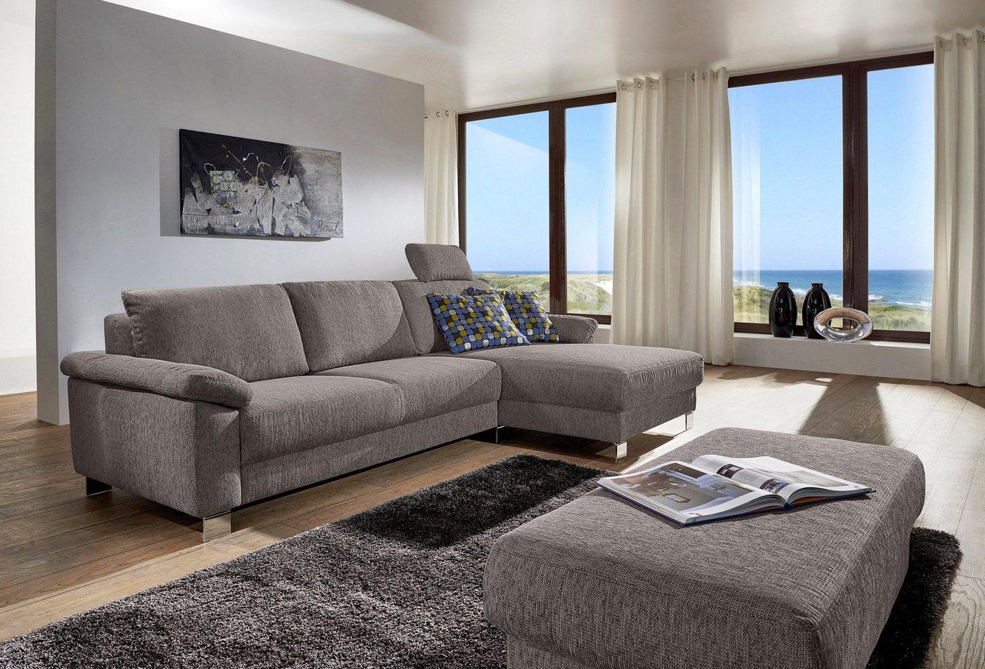 fm munzer polsterecke mit recamiere 603w mit abnehmbaren. Black Bedroom Furniture Sets. Home Design Ideas