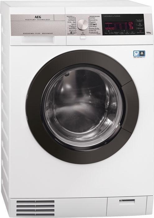 AEG Waschtrockner LAVAMAT L9WE95ÖKO, A, 9 kg / 6 kg, 1600 U/Min in weiß