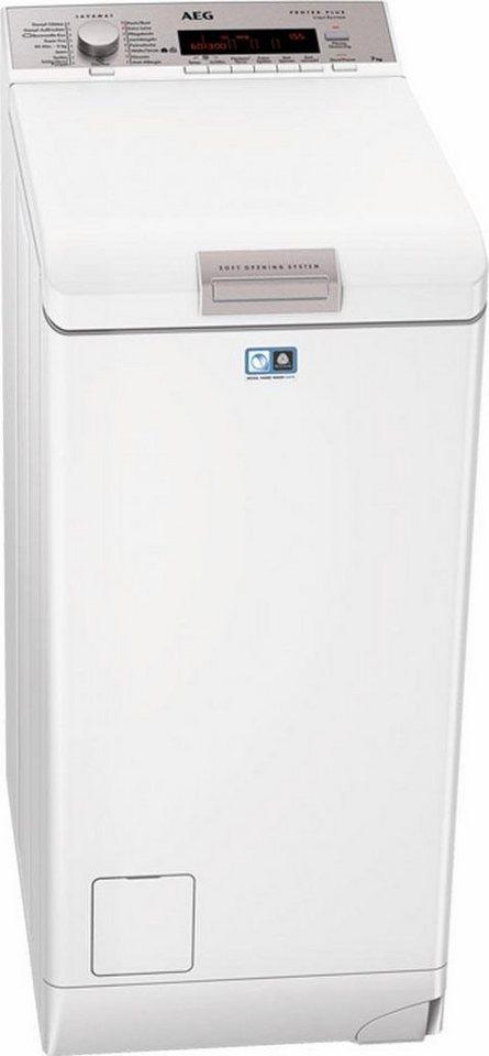 AEG Waschmaschine Toplader L89375TL, A+++, 7 kg, 1300 U/Min in weiß