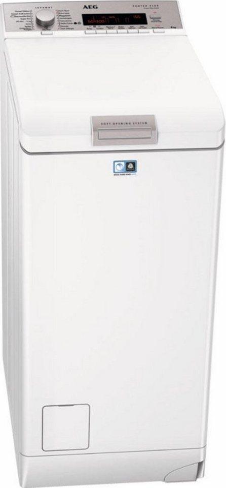 AEG Waschmaschine Toplader L88565TL, A+++, 6 kg, 1500 U/Min in weiß