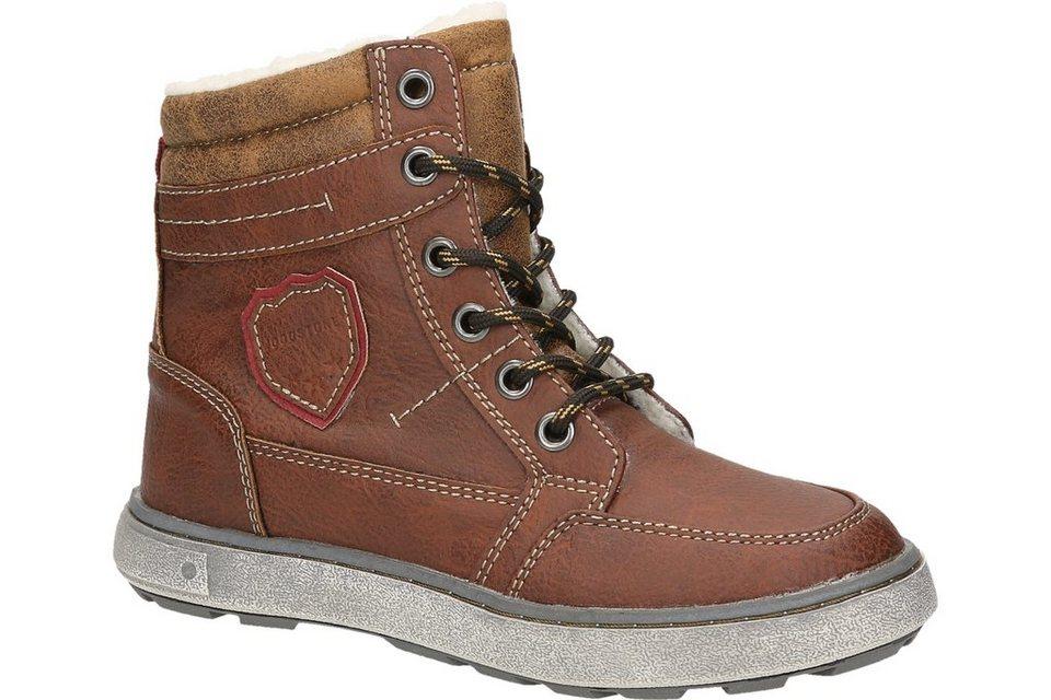 Woodstone Kids Boots in mittelbraun