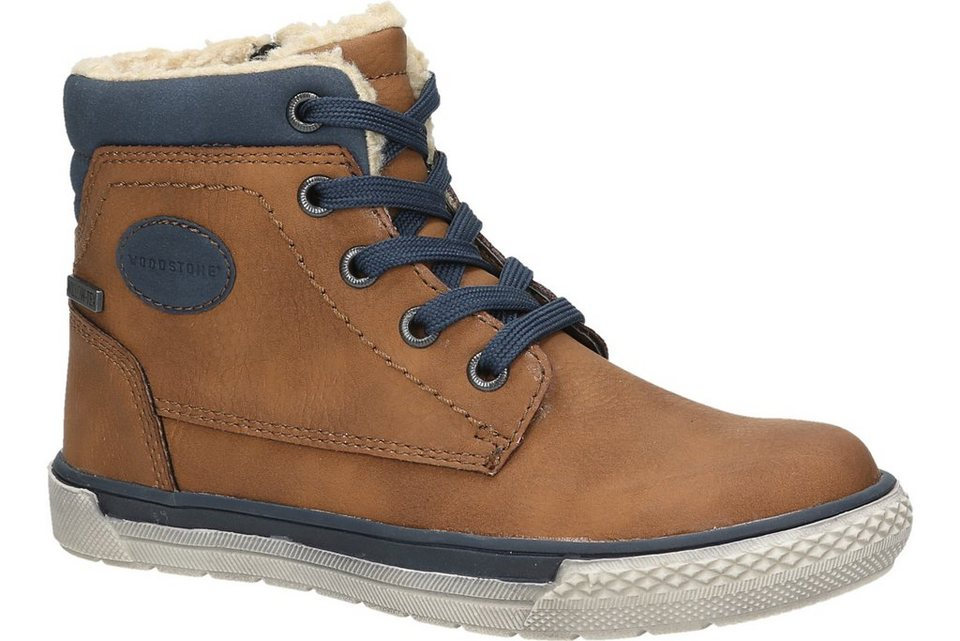 Woodstone Kids Boot in mittelbraun