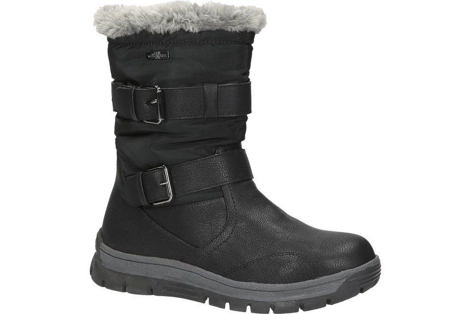 Woodstone Snow Boot in schwarz