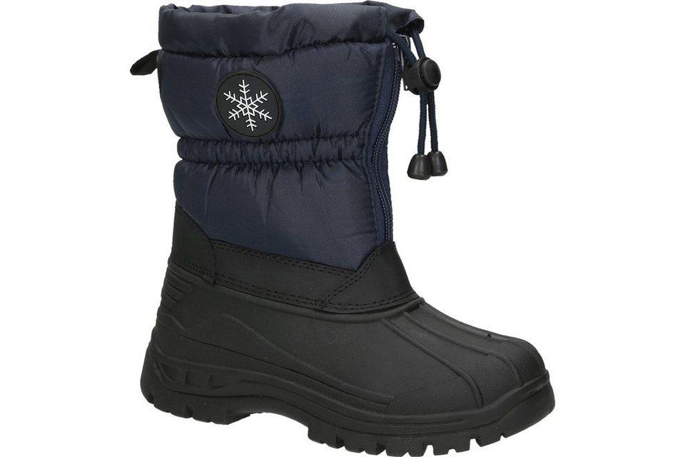 Woodstone Kids Snow Boot in dunkelblau