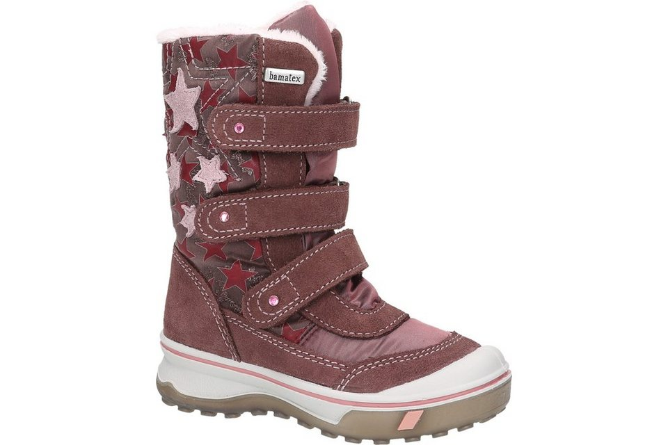 Bama Kids Echtform Klettbootie in rosa