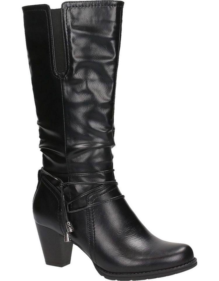 Cityline Women Stiefel in schwarz