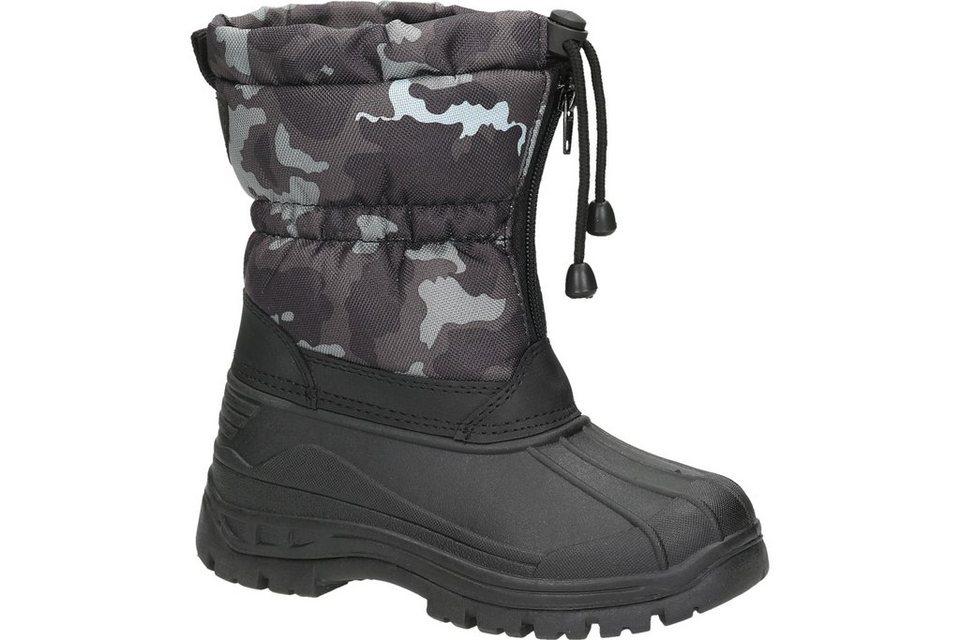 Woodstone Kids Snow Boot in schwarz / kombiniert