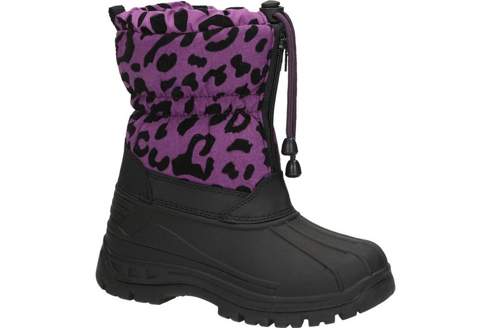 Spicy Children Snow Boot in lila