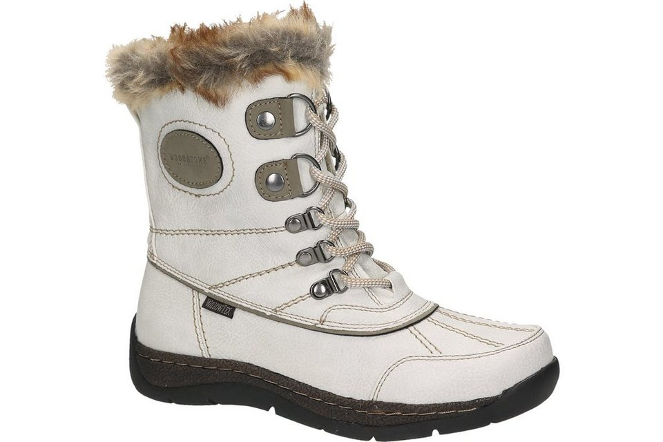Woodstone Snow Boot in offwhite