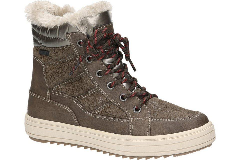 Woodstone Boot in mittelbraun