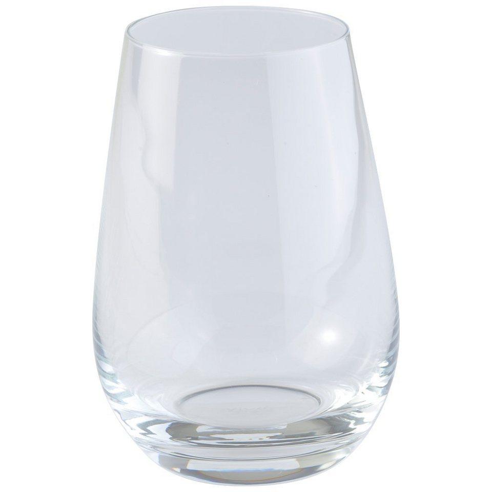 VIVO - VILLEROY & BOCH Longdrinkglas 4er Set »Voice Basic Glas« in dekoriert