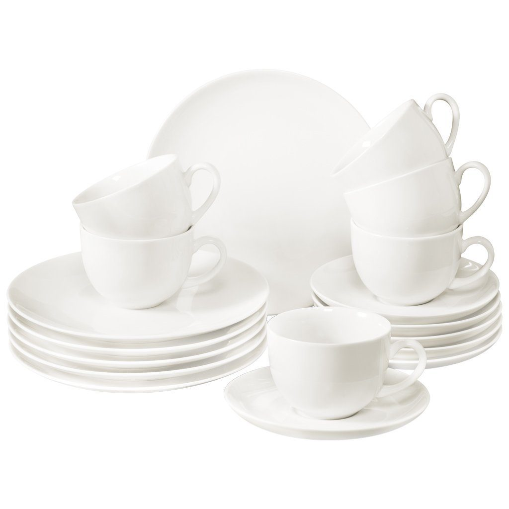 vivo Villeroy & Boch Group Kaffee Set 18tlg. »New Fresh Basic«