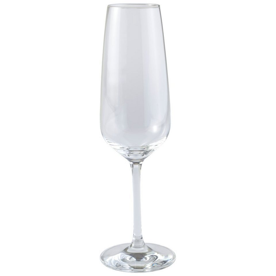 VIVO VILLEROY & BOCH GROUP Champagne Sektglas 4er Set »Voice Basic Glas« in dekoriert