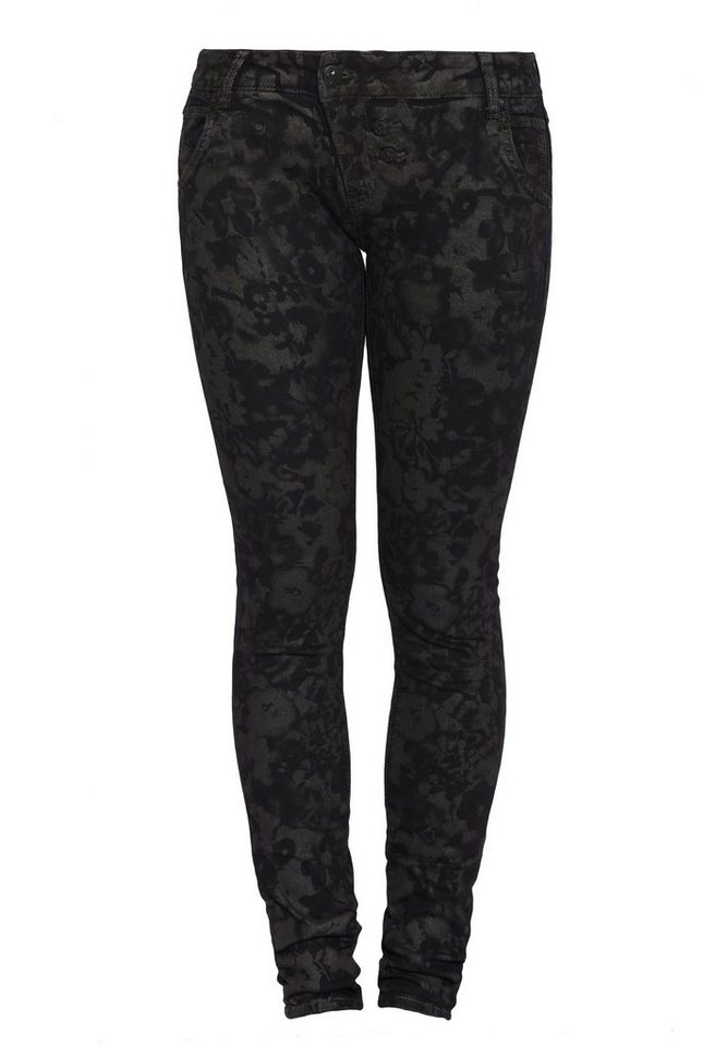 Blue Monkey Skinny-fit-Jeans »Lilly 1084« in schwarz