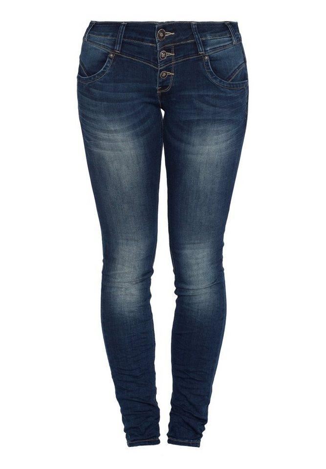 Blue Monkey Slim-fit-Jeans »Jullian 3681« in blau