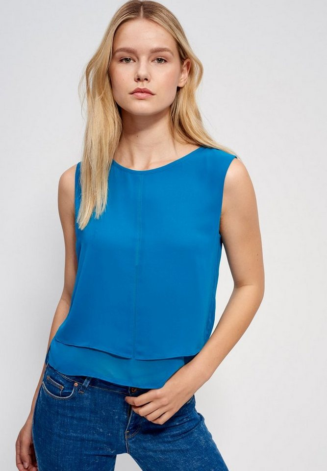 Mexx Chiffonbluse in türkis