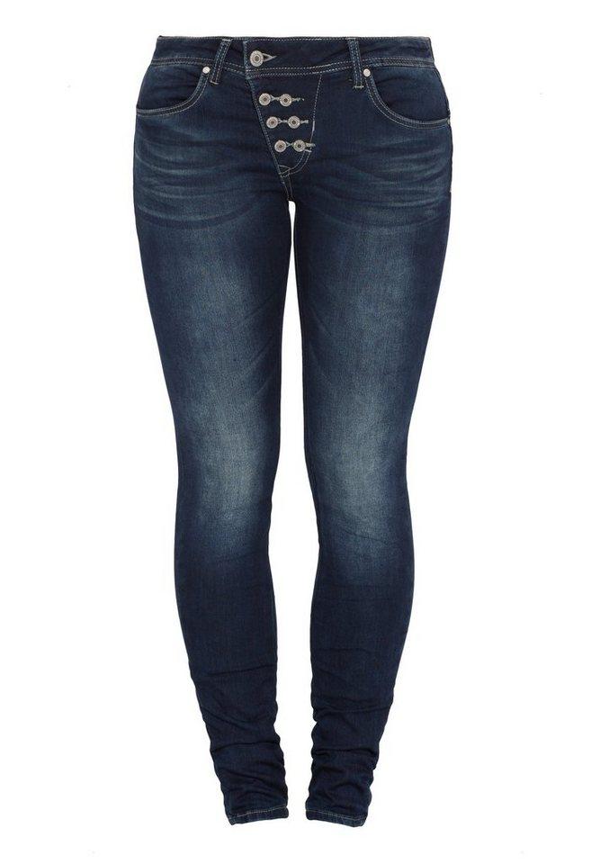 Blue Monkey Skinny-fit-Jeans »Haley 1061« in blau