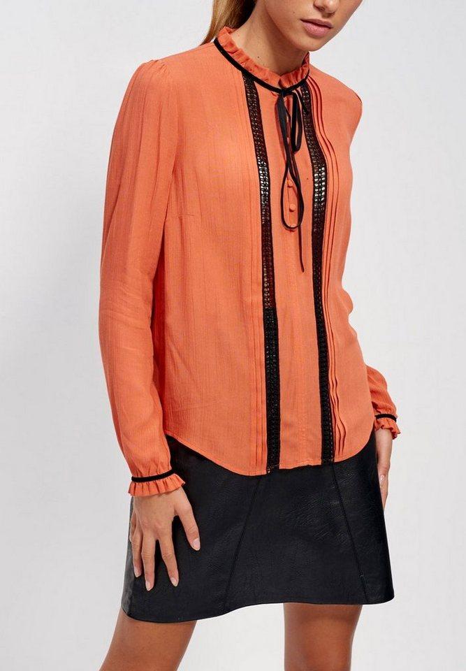 Mexx Chiffonbluse in orange