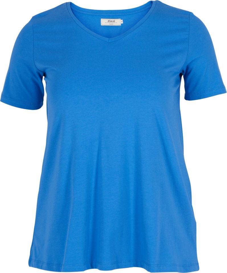 Zizzi T-Shirt in Palace Blue