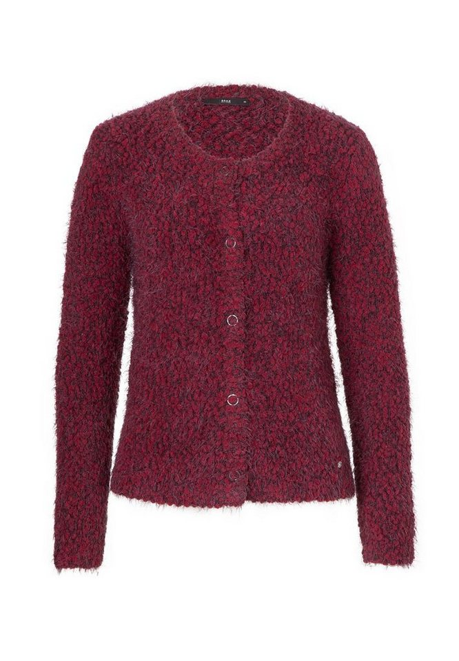BRAX Strickjacke »ANN« in DARK RUBY