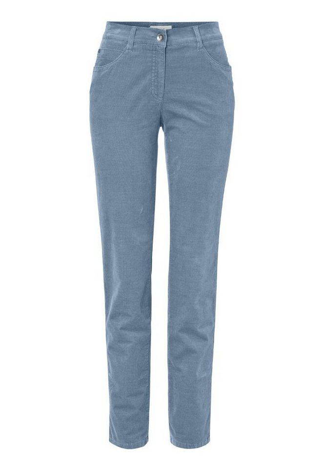 BRAX Damenhose Five-Pocket »SARA« in BLUE SMOKE