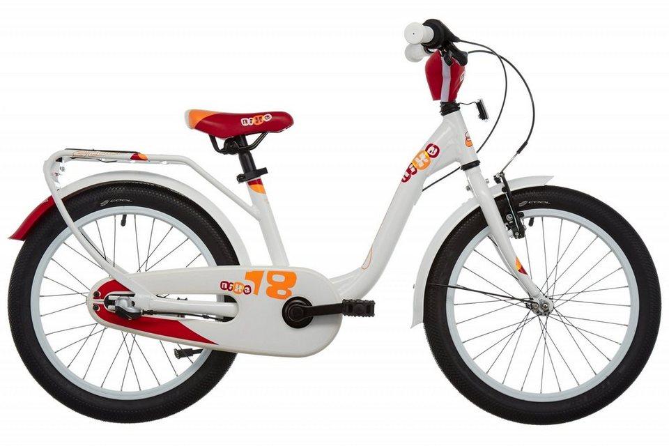 S'COOL Kinderrad »niXe 18-3« in weiß