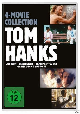 DVD »Tom Hanks 4 Movie Collection DVD-Box«