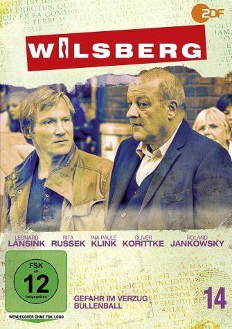 DVD »Wilsberg 14 - Gefahr in Verzug / Bullenball«