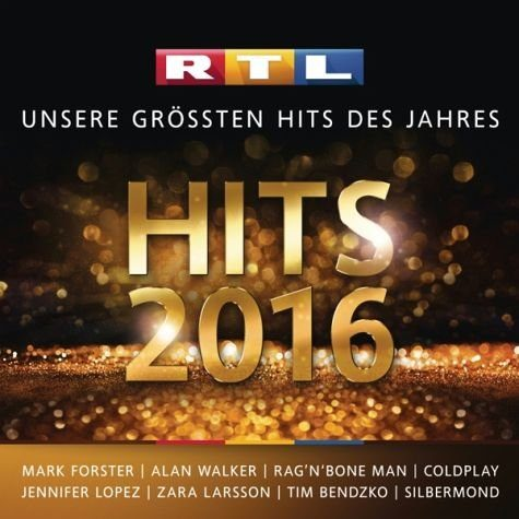Audio CD »Various: Rtl Hits 2016«