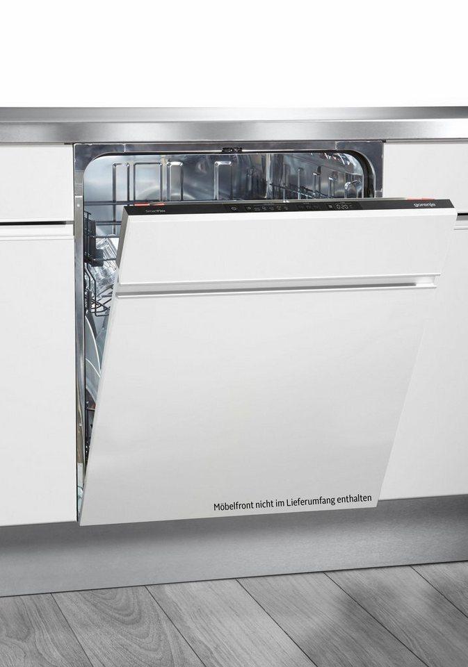 GORENJE Vollintegrierbarer Einbaugeschirrspüler GV 65160, A+++, 9,4 Liter, 13 Maßgedecke
