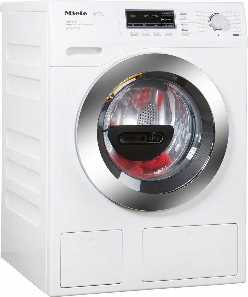 miele waschtrockner wth 730 wpm a 7 kg 4 kg u min online kaufen otto. Black Bedroom Furniture Sets. Home Design Ideas