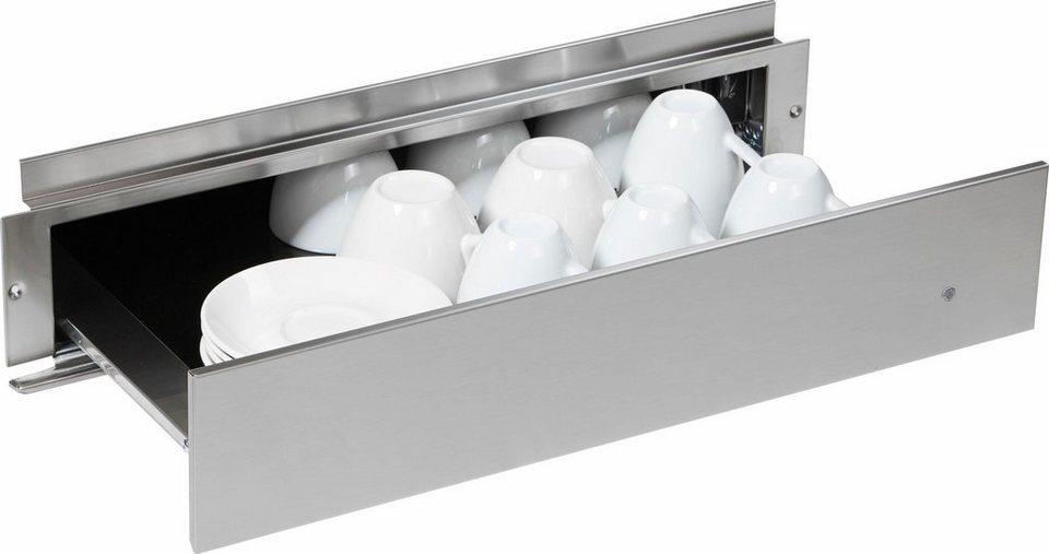 KitchenAid® Wärmeschublade, für 14er Nische in KitchenAid edelstahl
