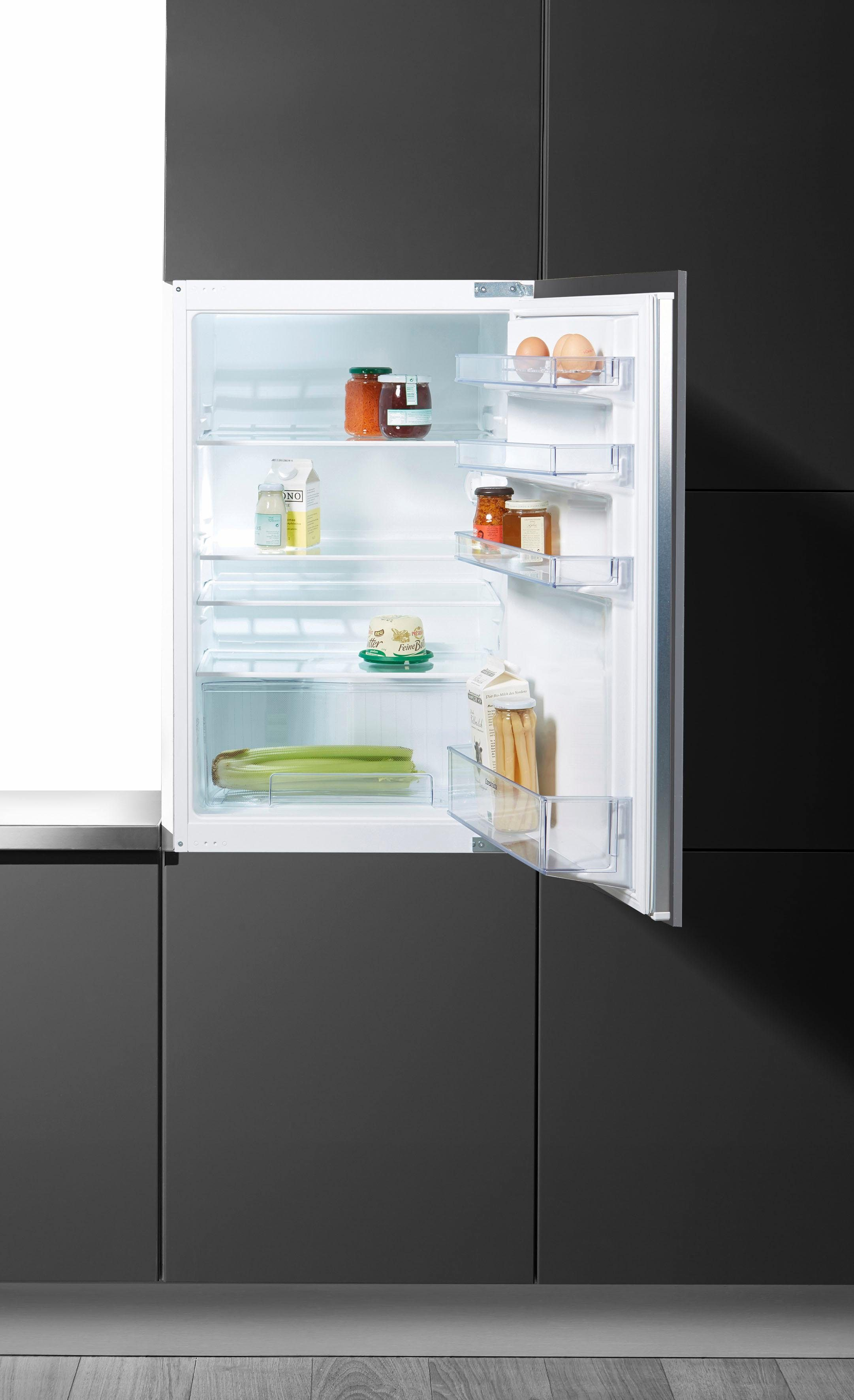Constructa Integrierbarer Einbaukühlschrank CK60244, Energieklasse A+, 87,4 cm hoch