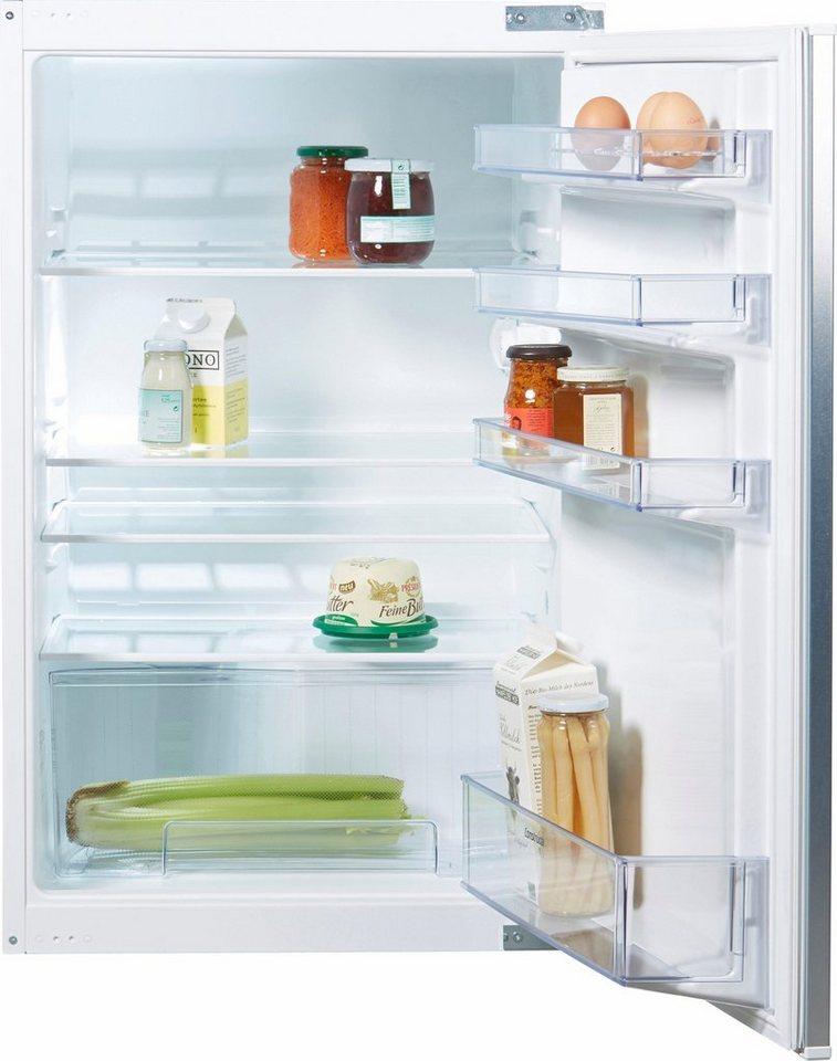 Constructa Integrierbare Einbaukühlschrank CK60230, A++, 88,0 cm hoch in weiß