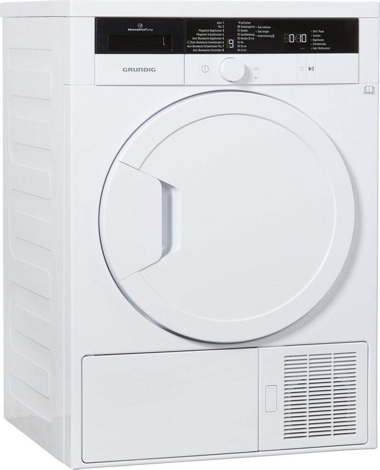 Grundig Trockner GTN 27240 M, A+, 7 kg in weiß