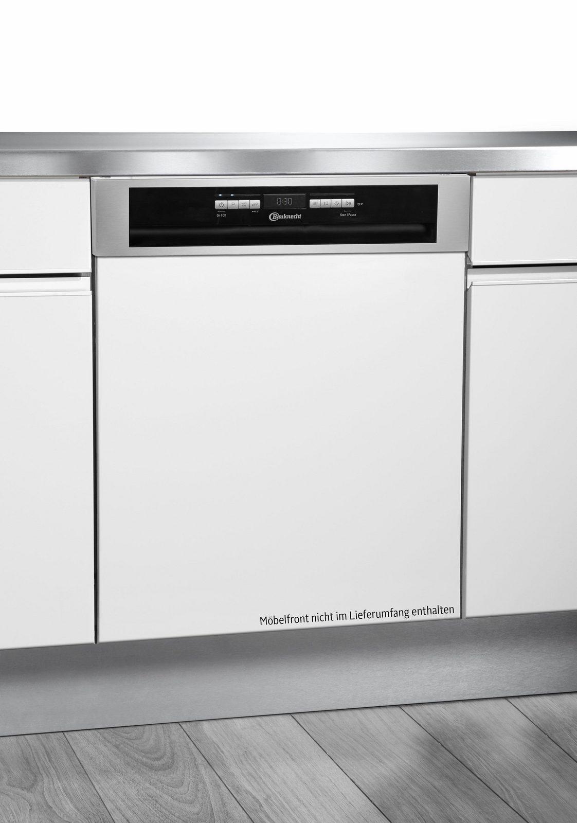 BAUKNECHT Teilintegrierbarer Geschirrspüler OBBO Super Eco X, A+++, 9 Liter, 14 Maßgedecke