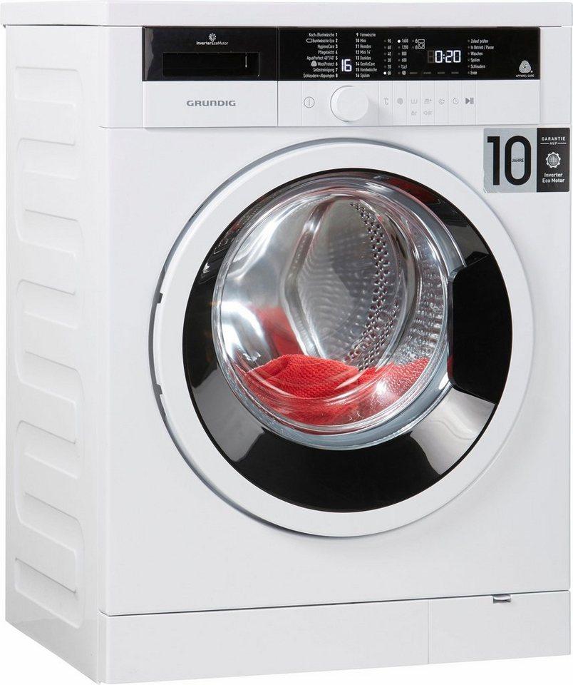 Grundig Waschmaschine GWO 37630 WB, A+++, 7 kg, 1600 U/Min in weiß