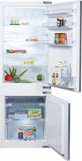 Constructa Einbaukühlgefrierkombination CK65643, 157,8 cm hoch, 54,5 cm breit, Energieeffizienzklasse: A+, 157,8 cm hoch