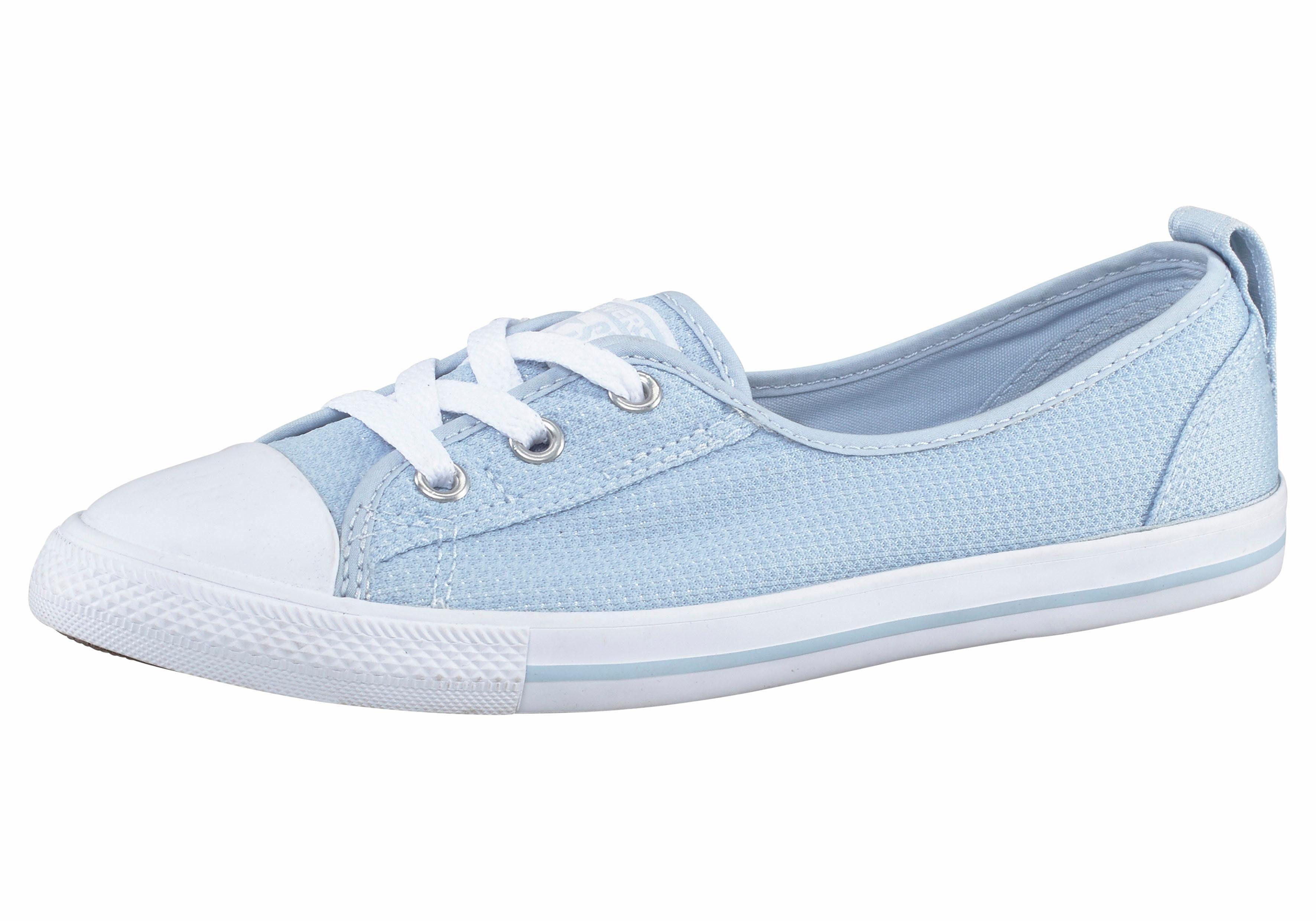 Converse Chuck Taylor All Star Coral Sneaker  hellblau