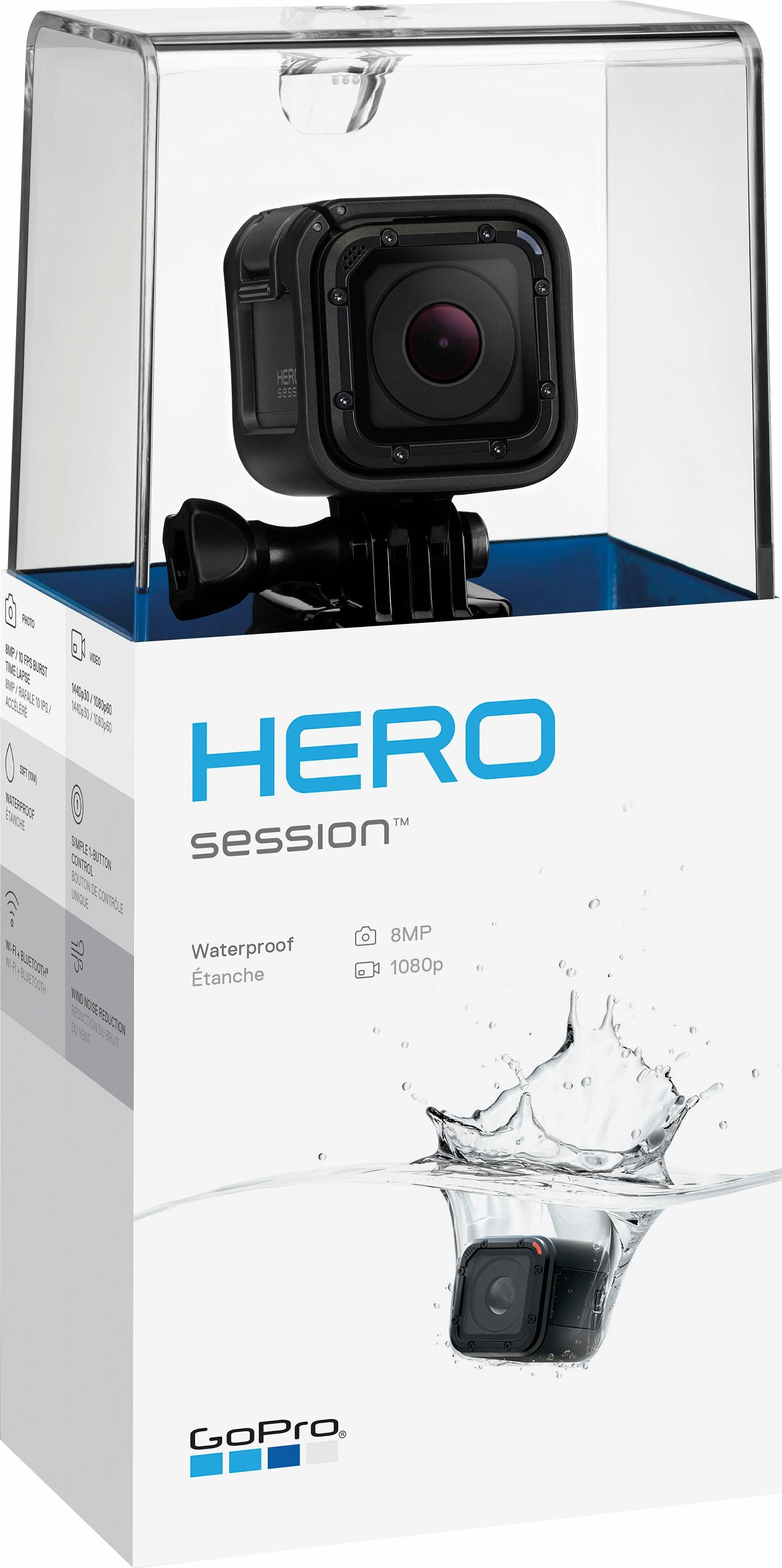 GoPro HERO Session 1080p SuperView Actioncam, WLAN, Bluetooth