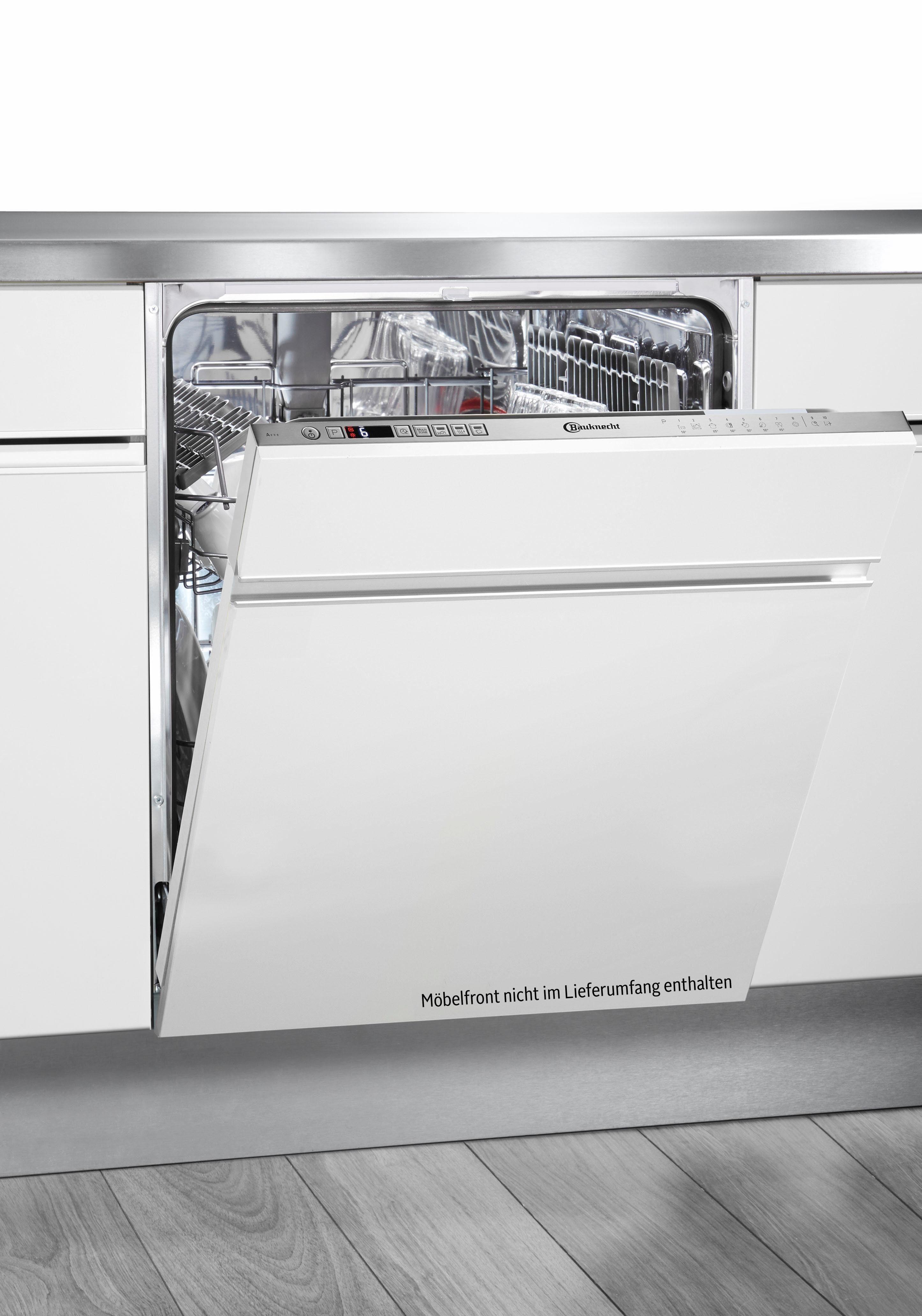 BAUKNECHT vollintegrierbarer Geschirrspüler, OBIO Super Eco, 9 l, 14 Maßgedecke