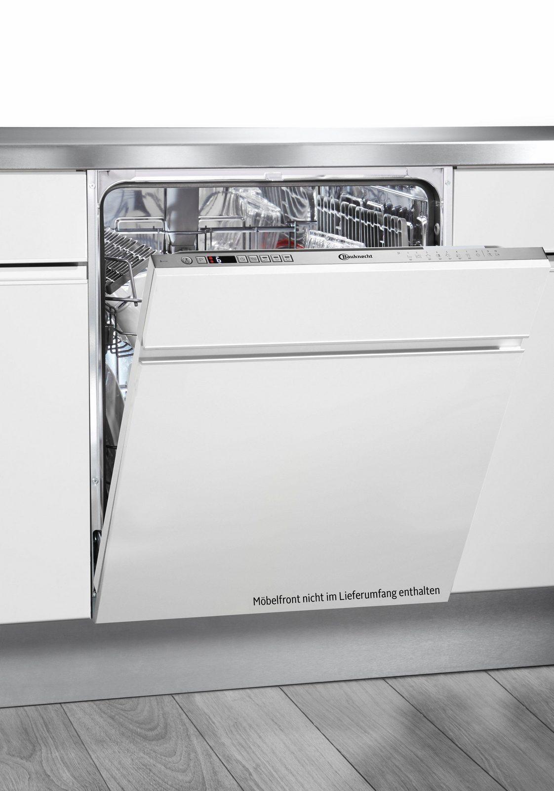 BAUKNECHT Vollintegrierbarer Einbaugeschirrspüler OBIO Super Eco, A+++, 9 Liter, 14 Maßgedecke